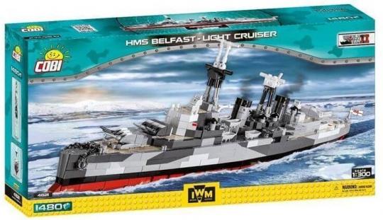 COBI 4821 - Battleship Bellfast , Modellbausatz