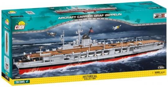 COBI 4826 -Graf Zeppelin  , Modellbausatz