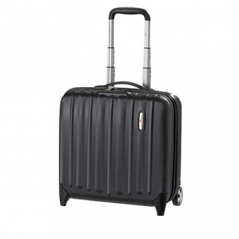 HARDWARE Profile Plus Business Trolley Black Grained