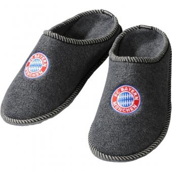 FC Bayern München Filz-Pantoffeln Kids, Gr. 30