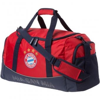 FC Bayern München Kinder-Sporttasche MIA SAN MIA, Farbe: rot