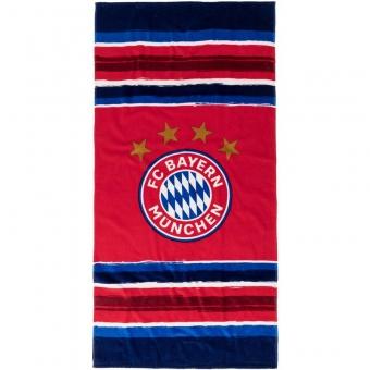 FC Bayern München Strandtuch Stripes