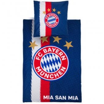 FC Bayern München Bettwäsche, Farbe: navy