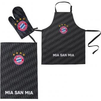 FC Bayern München Grill-Set 3tlg