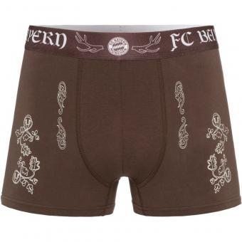 FC Bayern München Boxerpant Lederhose, Gr. XL