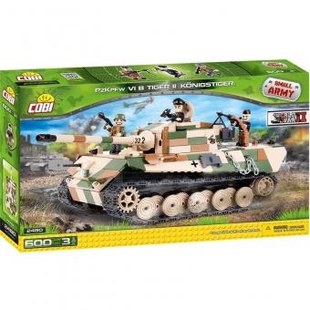 "COBI 2480 - Panzerkampfwagen TIGER II ""Königstiger"", Modellbausatz"
