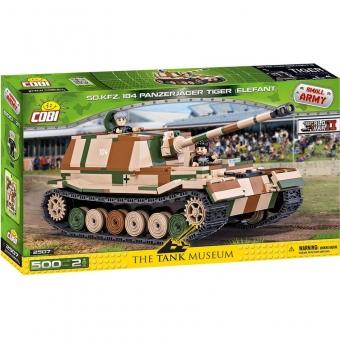 COBI 2507 - Panzerjäger Tiger (Elefant), Modellbausatz