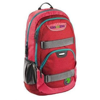 Coocazoo Rucksack Rayday, Design: Rio Red