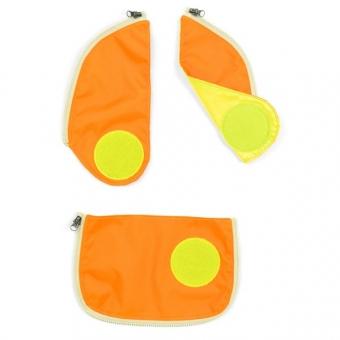 Ergobag cubo-Sicherheitsset (3-tlg.), Orange