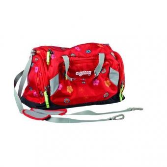Ergobag Sporttasche Rot, Naschkatze auf ErdBärjagd