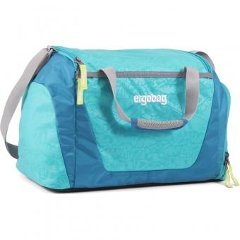 Ergobag Sporttasche, Hula HoopBär, Farbe/Muster: Hawaii Türkis