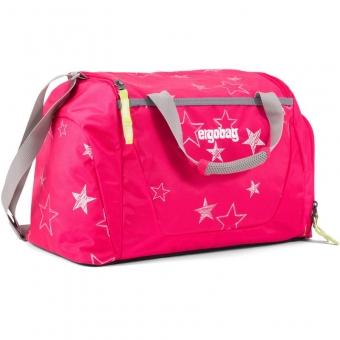 Ergobag Sporttasche, CinBärella, Farbe/Muster: Pinke Sterne