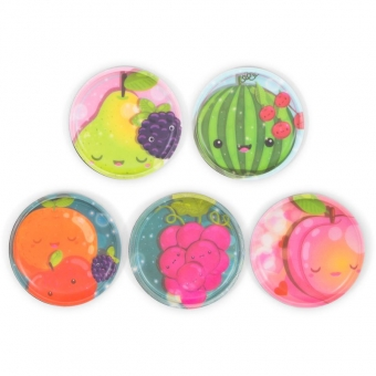 Ergobag Klettie-Sets (5-tlg.) Früchte