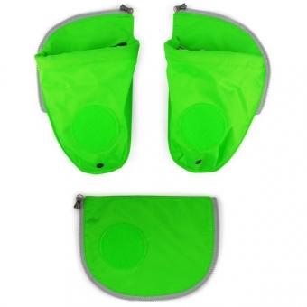 Ergobag Sicherheitsset mit Flaschenhalter, Grün