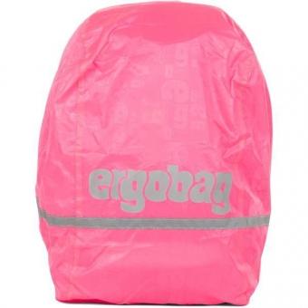 Ergobag Regencape Reflektierend, Pink fluoreszierend