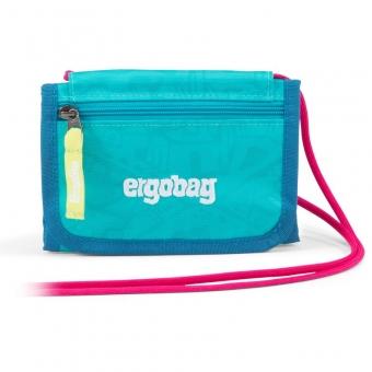 Ergobag Brustbeutel, Hula HoopBär, Farbe/Muster: Hawaii Türkis