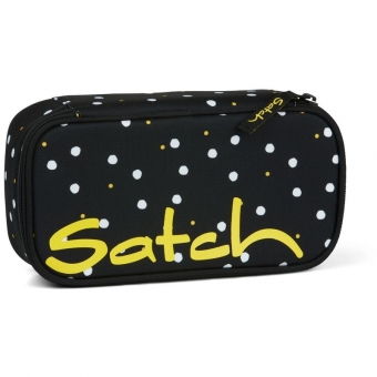 Satch Schlamperbox, Lazy Daisy, Farbe/Muster: black, white, yellow