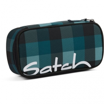 Satch Schlamperbox, Blue Bytes, Karo Blau Grau