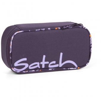 Satch Schlamperbox Mysterious Rush, Farbe/Muster: Lila gemustert