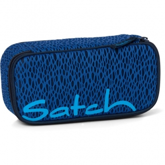 Satch Schlamperbox Blue Moon, Farbe/Muster: schwarzes Mesh