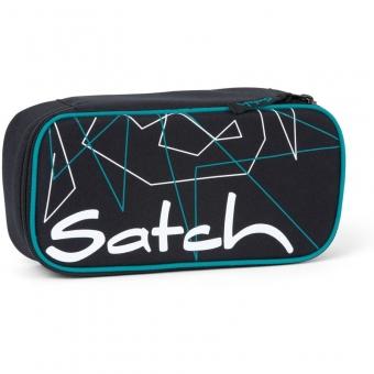 Satch Schlamperbox, Freeze, Farbe/Muster: schwarz, petrol