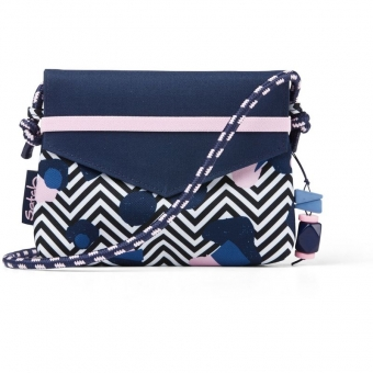 Satch Clutch, Stoney Mony, Farbe/Muster: purple, pink, turquoise
