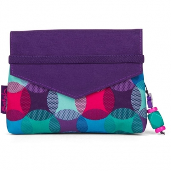Satch Beauty Wallet, Hurly Pearly, Bunte Punkte