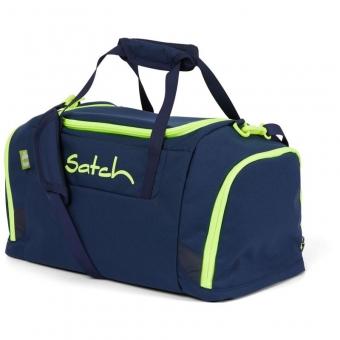 Satch Sporttasche, Toxic Yellow, Farbe/Muster: dark blue, neon, yellow