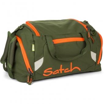 Satch Sporttasche, Green Phantom, Grün Orange
