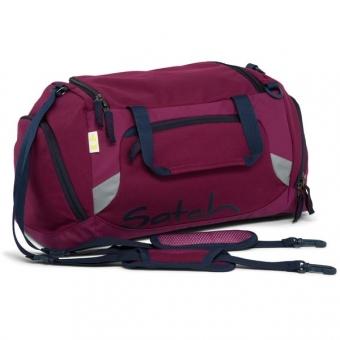 Satch Sporttasche, Pure Purple, Lila Dunkelblau