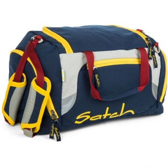 Satch Sporttasche, Flash Hopper, Color Block Dunkelblau