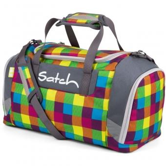 Satch Sporttasche, Beach Leach 2.0, Farbe/Muster: Blau, Grün, Gelb