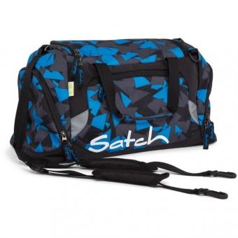 Satch Sporttasche, Blue Triangle, Dreiecke Blau