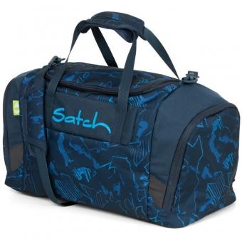 Satch Sporttasche Blue Compass, Farbe/Muster: blau gemustert