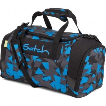 Satch Sporttasche, Blue Triangle, Farbe/Muster: Blau, Schwarz