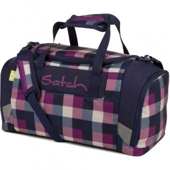 Satch Sporttasche, Berry Carry, Farbe/Muster: Lila, Blau
