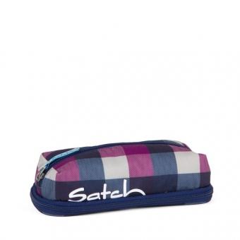 Satch PenBox, Berry Carry, Karo Lila/Blau
