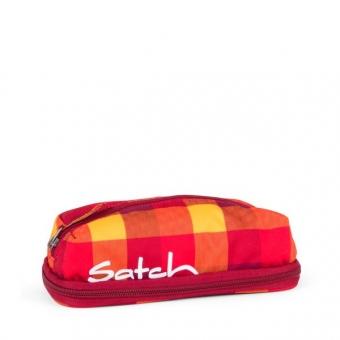 Satch PenBox, Firecracker, Karo Rot/Gelb
