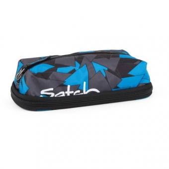 Satch PenBox, Blue Triangle, Dreiecke Blau