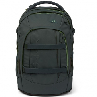 Satch Schulrucksack No Rules Edition, Be Brave, Farbe/Muster: green