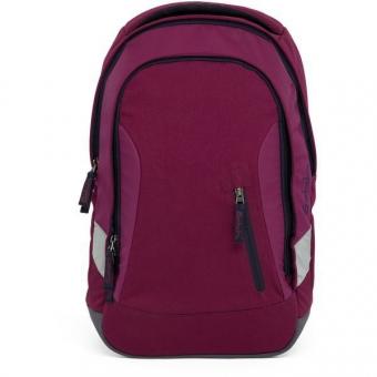 Satch Sleek Schulrucksack, Pure Purple, Lila Dunkelblau