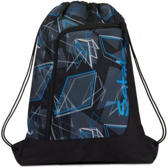 Satch Sportbeutel, Deep Dimension, Farbe/Muster: blue, black