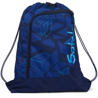 Satch Sportbeutel, Next Level, Farbe/Muster: blue, dark blue