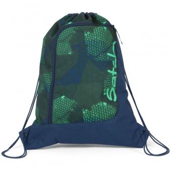 Satch Sportbeutel, Infra Green, Farbe/Muster: blau, grün, neon