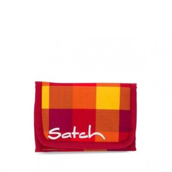 Satch Geldbeutel, Firecracker, Karo Rot-Gelb