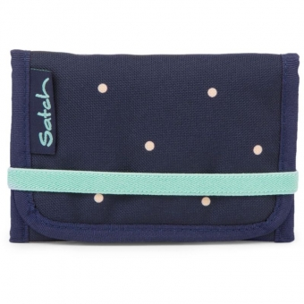 Satch Wallet, Pretty Confetti, Farbe/Muster: blue, yellow, peach
