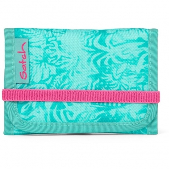 Satch Wallet, Aloha Mint, Farbe/Muster: mint, weiß
