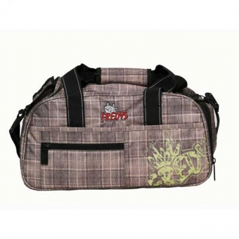 Syderf Sporttasche taupe check