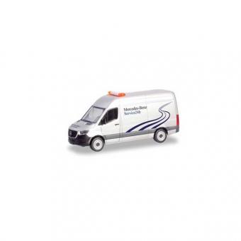 Herpa 094948 Mercedes-Benz Sprinter 18 Kasten HD Mercedes-Benz 24h Service 1:87