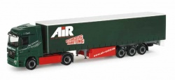 II. WAHL Herpa 153348 MB Actros LH Gardinenplanen-Sattelzug Oppel/Air 1:87